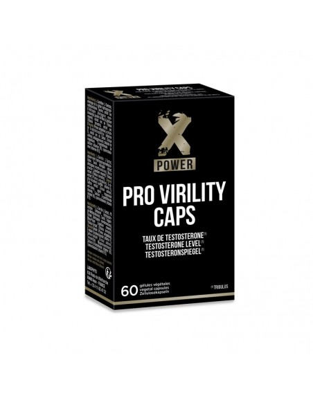 Pro Virility Caps  -  60 gélules