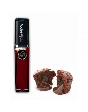 Gloss lumineux à effet chaud froid Fondant au Chocolat - 10 ml