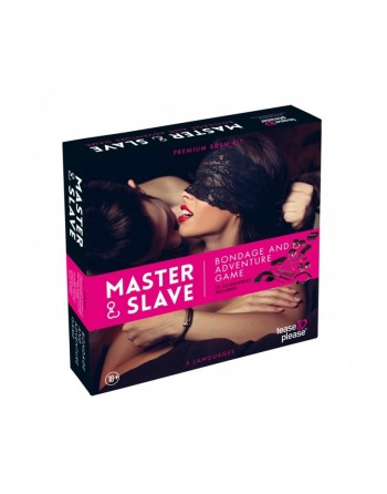 Kit BDSM Master and Slave Premium - Rose