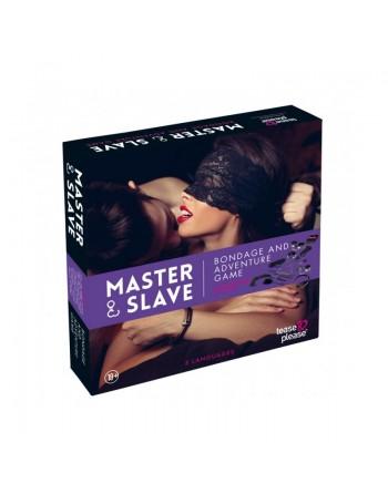 Kit BDSM Master and Slave Premium - Violet