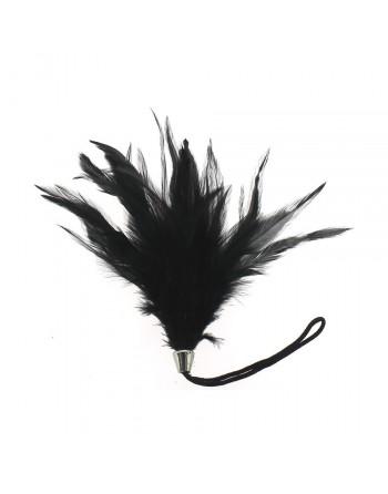 Plumeau noir 15 cm