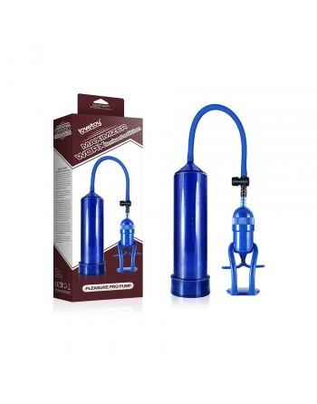 Developpeur de penis Bleu Maximizer Pro Pump
