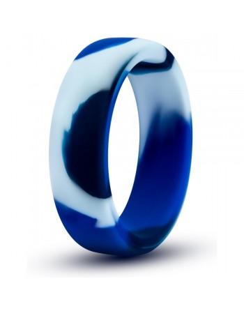 Anneau Pour Pénis En Silicone Performance Bleu