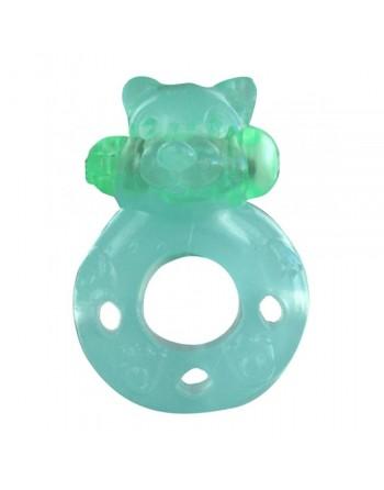 Anneau vibrant phosphorescent Flash Teddy
