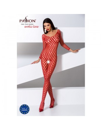 BS077R Bodystocking - Rouge