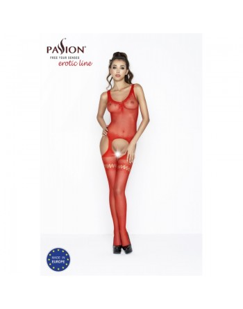 BS038R Bodystocking - Rouge