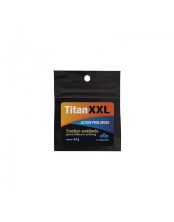 Titan XXL Homme - 4 comprimés
