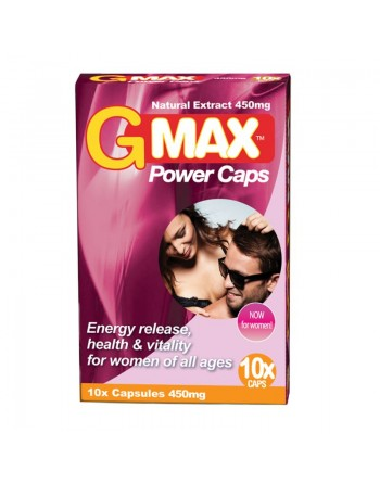 Gmax Perla Rosa Femme - 10 gélules