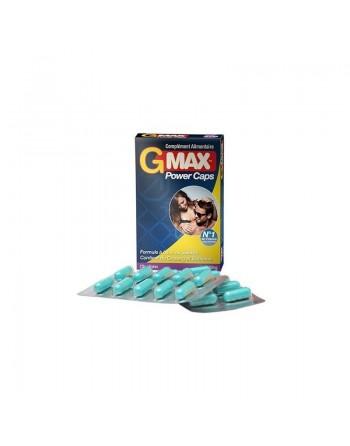Gmax Power Caps Homme - 20 gélules