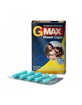 Gmax Power Caps Homme - 10 gélules