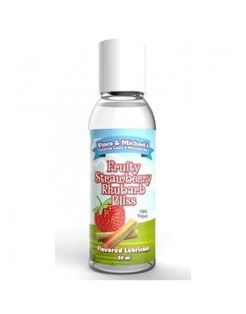 Lubrifiant VM Fraise Rhubarbe - 50 ml